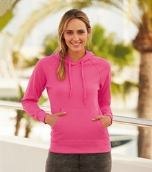 62-148-0 Lightweight Hooded Sweat Lady-Fit