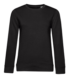 B&C_P_WW32B_Organic-crew-neck_women_black-pure_front_