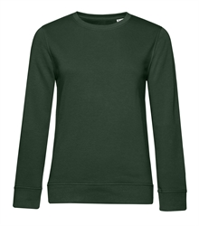 B&C_P_WW32B_Organic-crew-neck_women_forest-green_front_
