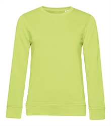 B&C_P_WW32B_Organic-crew-neck_women_lime_front_