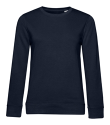 B&C_P_WW32B_Organic-crew-neck_women_navy-blue_front_