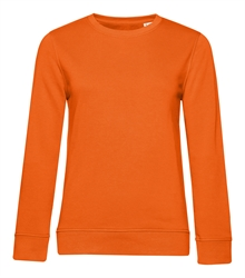 B&C_P_WW32B_Organic-crew-neck_women_pure-orange_front_