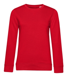 B&C_P_WW32B_Organic-crew-neck_women_red_front_