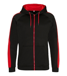 JH066 JET BLACK_FIRE RED (TORSO)