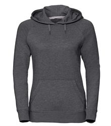 Russell-Ladies-HD-Hooded-Sweat-281F-Grey-marl-front