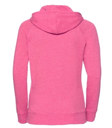 Russell-Ladies-HD-Hooded-Sweat-281F-Pink-marl-back