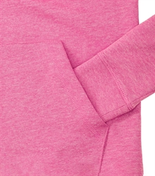 Russell-Ladies-HD-Hooded-Sweat-281F-Pink-marl-detail-1