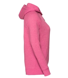 Russell-Ladies-HD-Hooded-Sweat-281F-Pink-marl-side