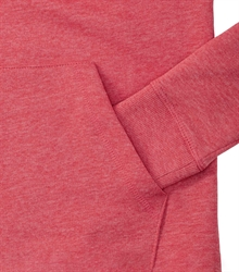 Russell-Ladies-HD-Hooded-Sweat-281F-Red-marl-detail-1