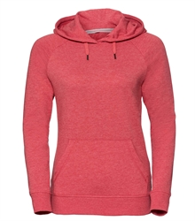 Russell-Ladies-HD-Hooded-Sweat-281F-Red-marl-front