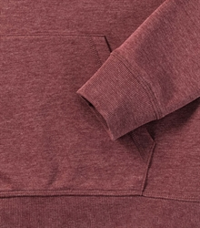 Russell-Ladies-HD-Hooded-Sweat-281F-maroon-marl-detail-1