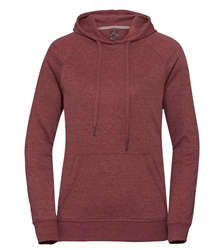Russell-Ladies-HD-Hooded-Sweat-281F-maroon-marl-front