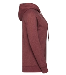 Russell-Ladies-HD-Hooded-Sweat-281F-maroon-marl-side