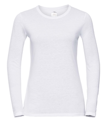 Russell-Ladies-long-sleeve-HD-T-167F-white-front