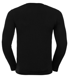 Russell-Mens-long-sleeve-HD-T-167M-black-back