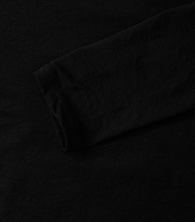 Russell-Mens-long-sleeve-HD-T-167M-black-detail-1