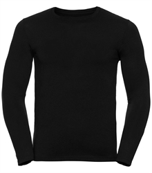 Russell-Mens-long-sleeve-HD-T-167M-black-front