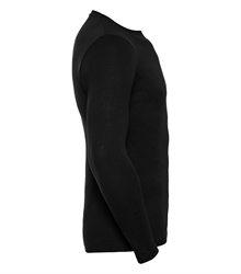 Russell-Mens-long-sleeve-HD-T-167M-black-side