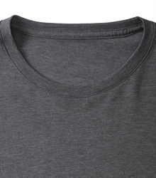 Russell-Mens-long-sleeve-HD-T-167M-grey-marl-detail